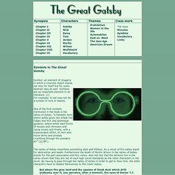 colour in the great gatsby