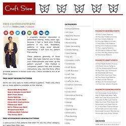Free Skirt Sewing Patterns - over 100   Pearltrees