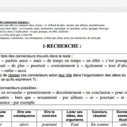 Tous les connecteurs logiques en français et leurs utilisations