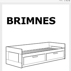 Www Ikea Us En Embly Instructions Brimnes Daybed Frame With Drawers Aa 5