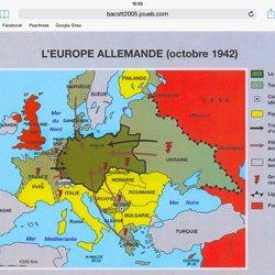 carte europe 1942