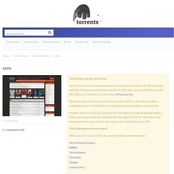 1337x.com search engine