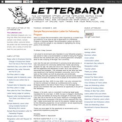 reference letter pearltrees