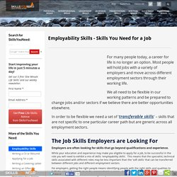 top skills and values employers seek from job seekers resume checklist of personal skills employability skills skills you need for a job