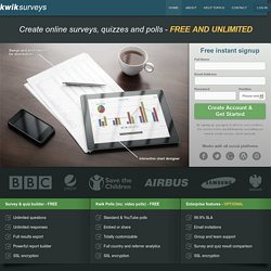 kwiksurveys free online survey questionnaire tool pearltrees