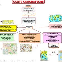Tipi Di Carte Geografiche Pearltrees