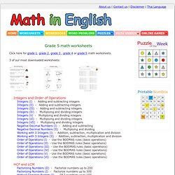 Math Worksheets Land - Tons of Printable Math Worksheets From All ...