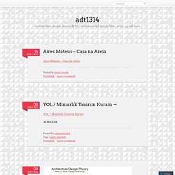 Adt1314 | Architecture Design Theory MTS / Architecturalu2026