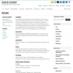 Awesome Resumes | Pearltrees