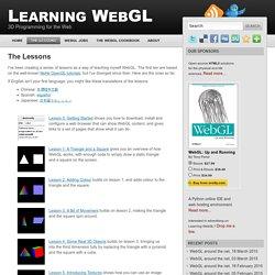 WebGL | Pearltrees