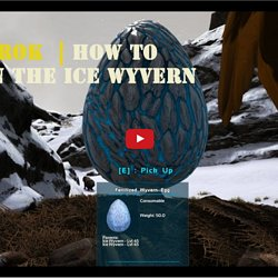 Ark Ragnarok : How To Obtain The Ice Wyvern Eggs And Oil