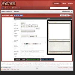 tcg card maker