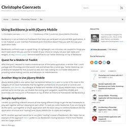 JQuery Mobile Tutorial: Creating a Restaurant Picker Web App