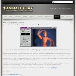 anasazi stop motion animator software