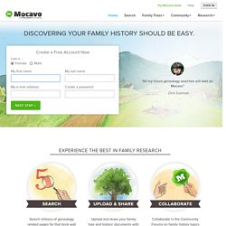 Mocavo - The Largest Free Genealogy & Family Tree Search