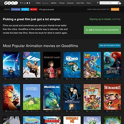 Most viewed animated movies