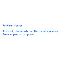 Primary Source Definition | Pearltrees