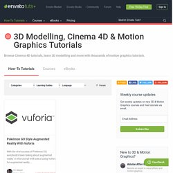 Tuts+ Free 3D & Motion Graphics Tutorials | Pearltrees