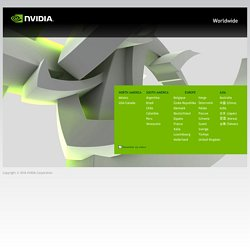 Welcome to NVIDIA - World Leader in Visual Computing Technologies