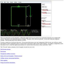 circuit simulator applet pearltrees rh pearltrees com falstad circuit simulator applet download electronic circuit simulator applet
