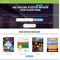 free online poster maker pearltrees