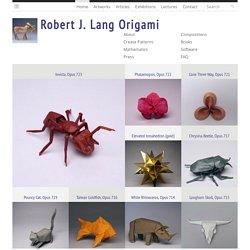 Robert J Lang Origami