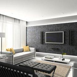 deco salon moderne with simulation peinture salon gratuit - Simulation Peinture Salon Gratuit