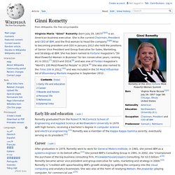 ginni rometty biography