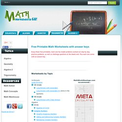 Printables Math Worksheets Go math worksheets go free printable pearltrees worksheets
