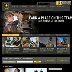 Go Army Homepage