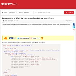 JQuery Plugin Registry | Pearltrees