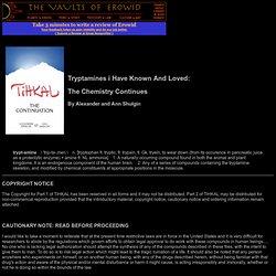 Psychoactive Alkaloids | Pearltrees