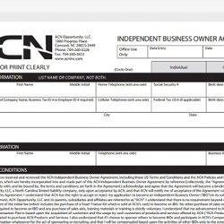 acn independent business owner