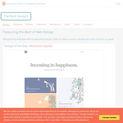 The Best Designs Best Web Design Awards & CSS Gallery