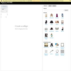 Polyvore - Editor | Pearltrees
