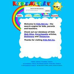 Au Search Engine For Kids Children Pas Educators And Teachers