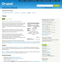 Drupal 7 : Essential Modules | Pearltrees