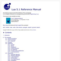 programming in lua pearltrees rh pearltrees com lua reference manual pdf 5.2 lua reference manual pdf 5.2