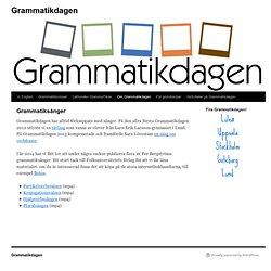 hjälpverb svenska grammatik