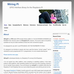 wiringpi gpio interface library pearltrees rh pearltrees com