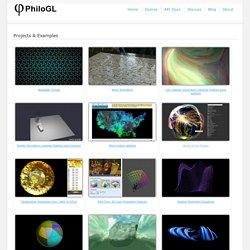 PhiloGL: A WebGL Framework for Data Visualization, Creative Coding