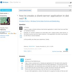 Android Windows Server Client Socket SOAP JSON | Pearltrees