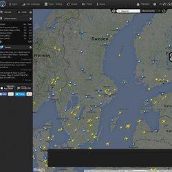 Flight radar 24 live