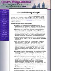 creativewritingprompts com