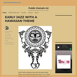 Best Public Domain Music Downloads at Public Domain 4U | Pearltrees