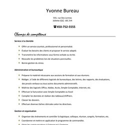 exemple cv carrefour CV   Ecrits | Pearltrees exemple cv carrefour