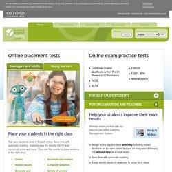 online oxford testing