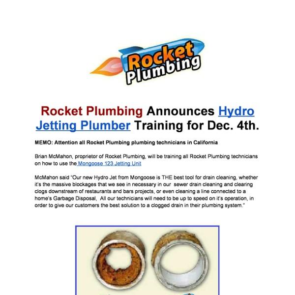 Hydro Jetting Plumbing 323 992 6477
