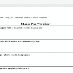Worksheets Change Plan Worksheet motivational interviewing pearltrees change plan worksheet