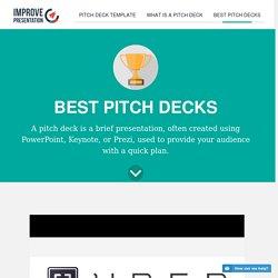 best pitch decks